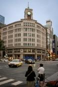 Das Hattori (Wako) Gebäude in Ginza von 1894 wurde mehrfach umgebaut bis zu seiner heutigen Form als Kaufhaus.