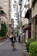 Kleine Straßen in Stadtteil Nezu