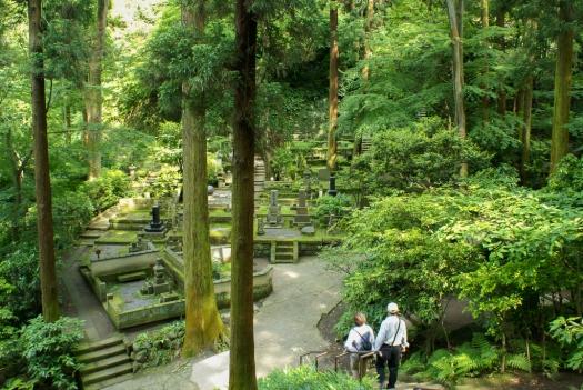 Friedhof hinter dem Tōkei-ji