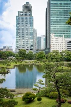 Der Kyū Shiba Rikyū Garden (jap. 旧芝離宮恩賜庭園)