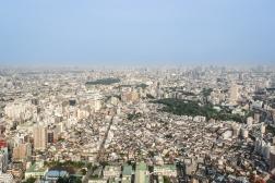 Blick vom Sunshine Tower 60 (2009 das dritt höchste Gebäude in Tokio mit 240m)