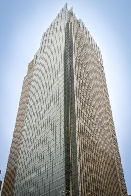 Tokio Midtown Tower mit 248 m Höhe und 54 Etagen war 2009 das höchste Gebäude Tokios.