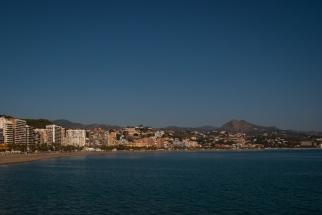 Der Strand - Playa de la Malagueta.