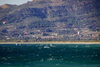Tarifa ist ein Spot für Kitesurfer.