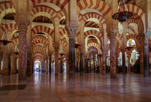 Mezquita Kathedrale ein Gemisch aus maurischer unf katholischer Kultur.