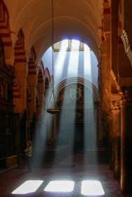 Einzigartige Lichtstimmung in der Kathedrale...