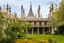 """Der """"Royal Pavilion"""" ist im Stil indischen Mogulpaläste angelegt. Im Inneren ist der exotische Palast allerdings chinesisch gehalten."""
