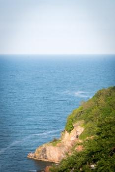 Die Steilküste von Babbacombe.