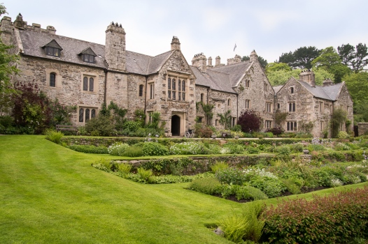 Ein Herrenhaus aus der Tudorzeit.