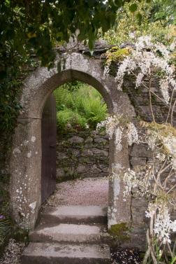 Der Eingang zum Zaubergarten.
