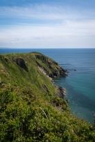 Entlang des Coastal Path kann man die unterschiedlichsten Landschaftsformen entdecken.
