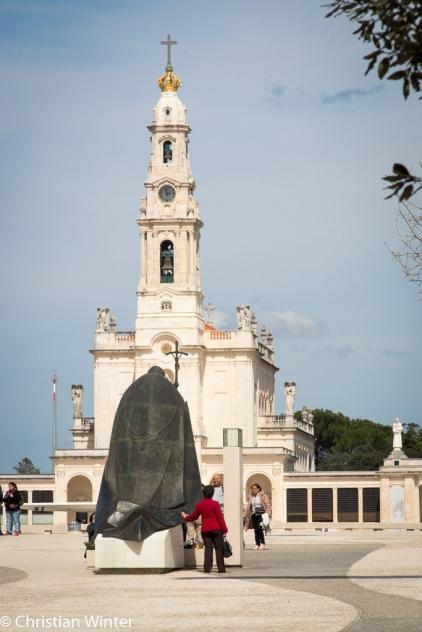Johannes Paul II. war dreimal in Fátima. Aber auch andere Päpste besuchten das Heiligtum.