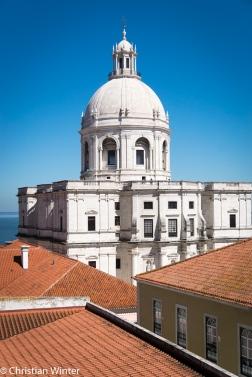 Das National Pantheon in Lissabon, auch Panteão Nacional oder Igreja de Santa Engrácia genannt, ist eine barocke Kirche aus dem 17. Jahrhundert, die jedoch nie als Kirche genutzt wurde.