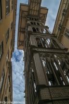 Der Elevador de Santa Justa verbindet die Stadtteile Baixa und Chiado seit über 100 Jahren.