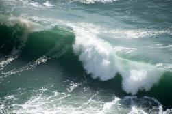 In Nazarè gibt es die größten Wellen der Welt.