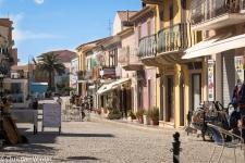 Auch die Geschäfte und Restaurants in der kleinen Altstadt sind noch geöffnet.