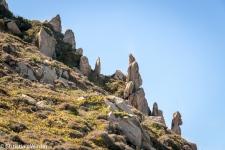 Die Nordspitze von Sardinien ist bekannt für bizarre Granitfelsen...