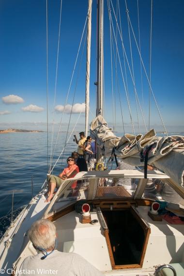Von Palau aus haben wie einen Segelausflug zu Inselgruppe La Maddalena und dem Golf von Arzachena gemacht.