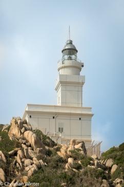 Der Leuchtturm von Capo Testa.