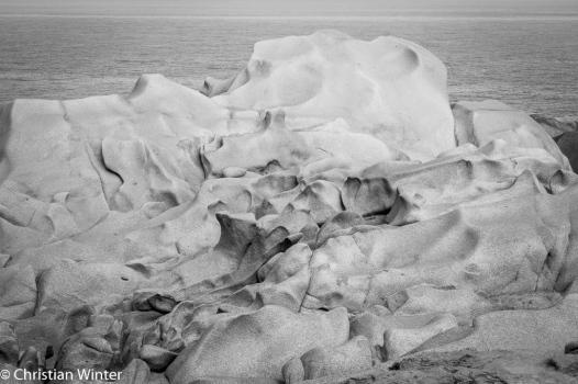 Bizarre Fellsformationen, geformt von Wind, Wetter und dem Eis der letzten Eiszeit.